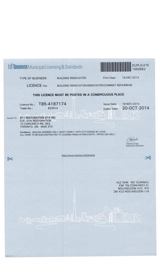 Building Renovator License